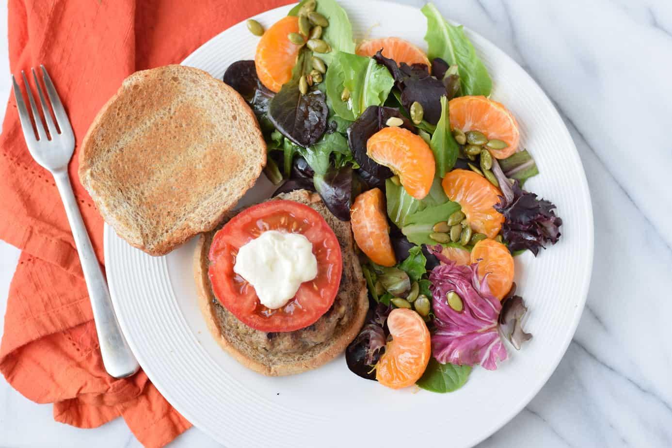 beef and mushroom burger recipe