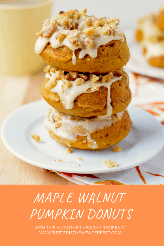 maple walnut pumpkin donuts pinterest