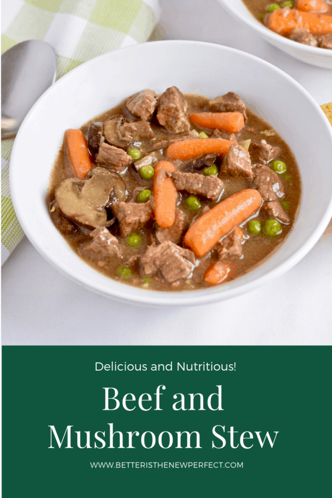 Slow Cooker Beef and Mushroom Stew recipe