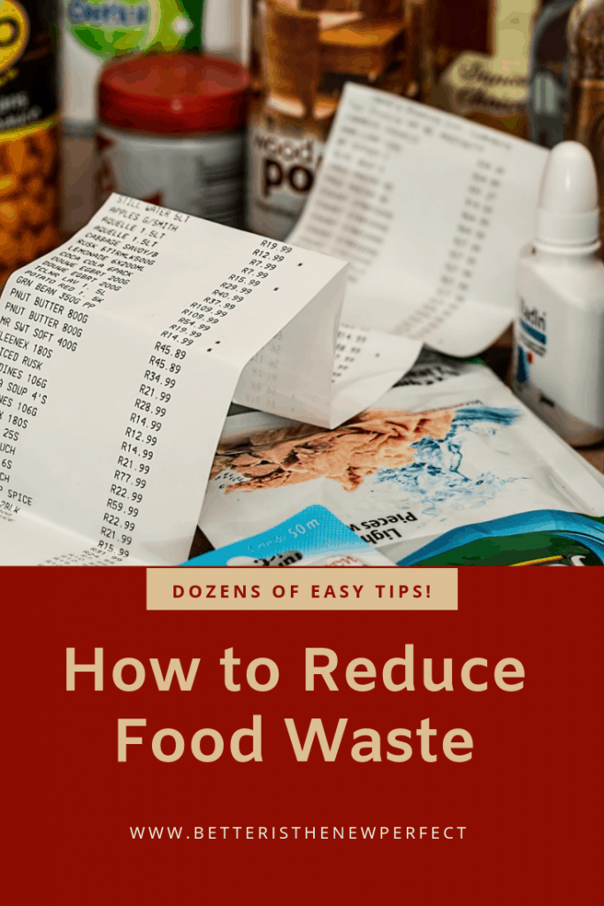 dozens of easy tips to prevent food waste