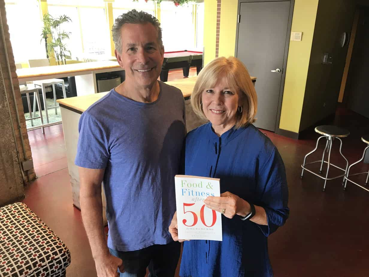 Chris Rosenbloom and co-author Bob Murray Food & Fitness After 50