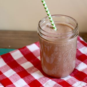 frozen mochaccino smoothie