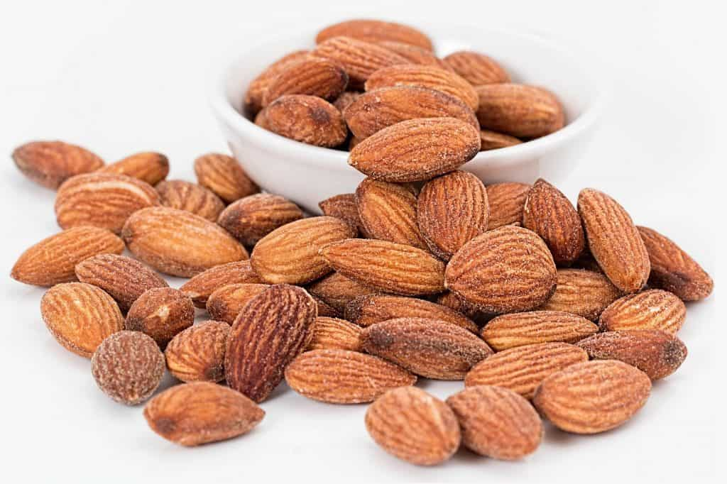 Whole almonds are a delicious, satisfying snack.