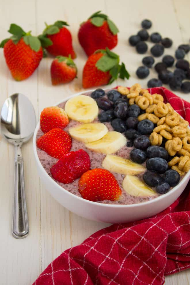 Kid Friendly Smoothie Bowl by The Crowded Table