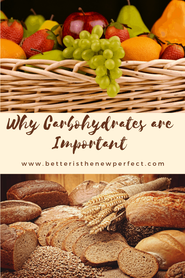 why carbohydrates are important