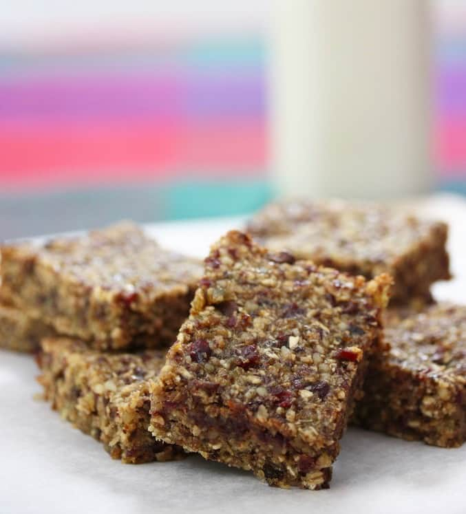 Grab-and-Go Granola Bars by Liz's Healthy Table