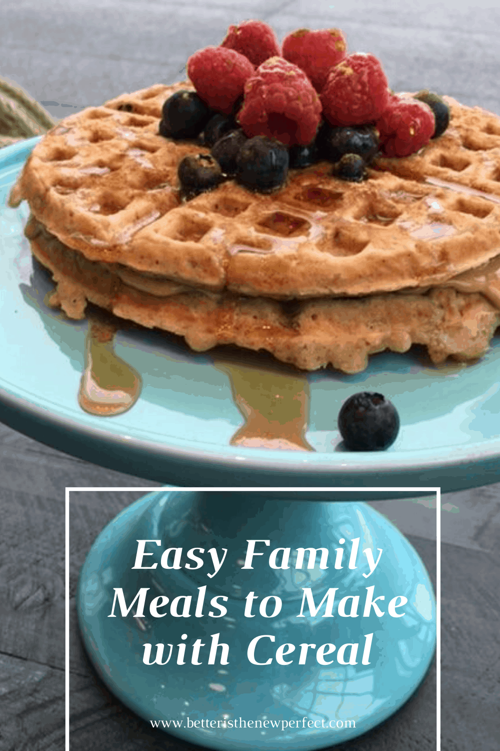 easy family meals to make with cereal photo credit: Bonnie Taub-Dix